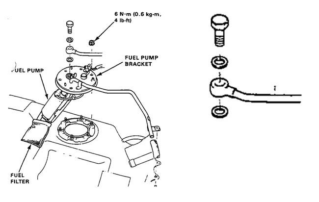 Passage pompe externe AdaptateurA