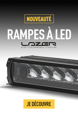 rampe led lazer
