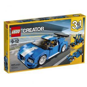 Jeu de construction LEGO Creator Le bolide bleu