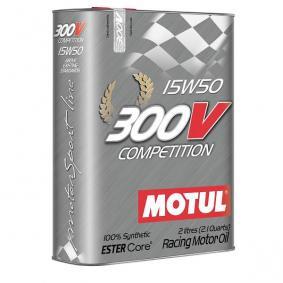 Huile moteur MOTUL 300V Compétition 15W50 2L
