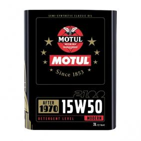 Huile moteur MOTUL Classic 2100 15W50 2L