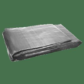 Bâche de sol REDSPEC 170 g/m² 6 x 3,7 m grise