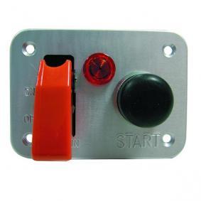 Platine interrupteur REDSPEC Starter modèle alu