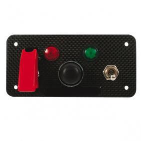 Platine interrupteur REDSPEC Starter Pro modèle carbone véritable