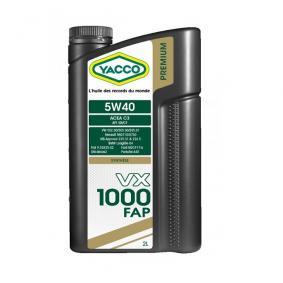 Huile moteur YACCO VX1000 5W40 FAP 2L