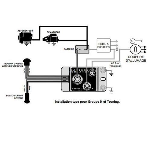 Cartek Électrique Coupe Circuit Modèle Gt wOPkn80