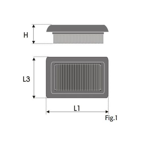 Filtre à air filtre intérieur-Citroen c2 1.6 VTS