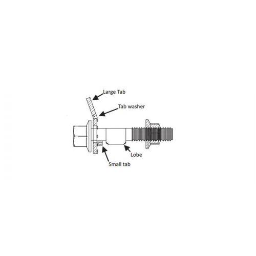 Montage Boulons Escort//Cosworth Arrière Frein à main type étrier supports de montage X 2