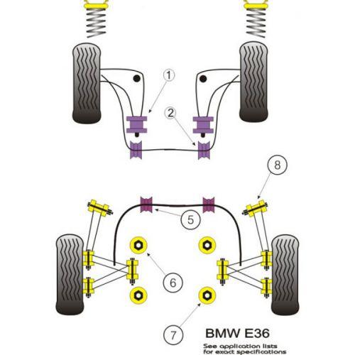 Série ressort Opel Astra F C//C arrière renforcé