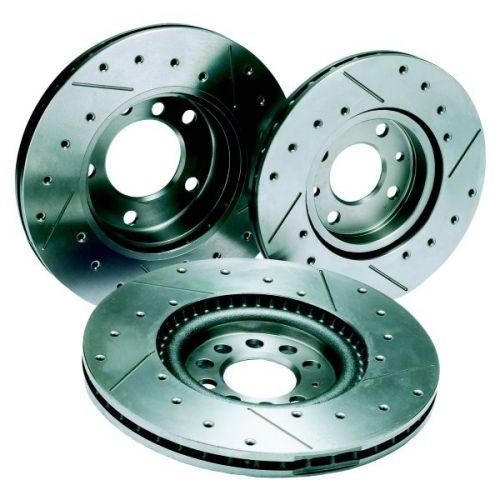 Honda civic type r FN2 disque de frein avant brembo croix foré rainuré plaquettes de frein