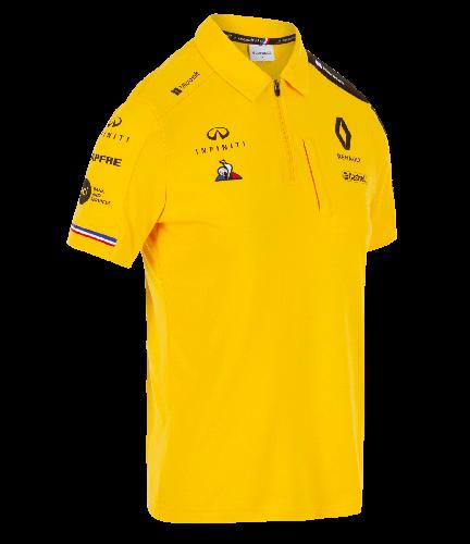 M Polo Renault Team Taille Jaune Pour Femme F1® 2019 T3lF5JuK1c