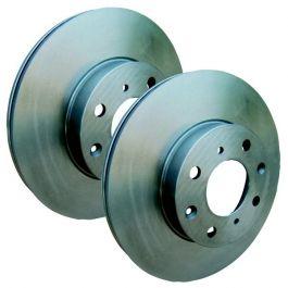 Uat Disques de frein ø266mm FC JM plaquettes de freins avant Citroen c2 + c3 I
