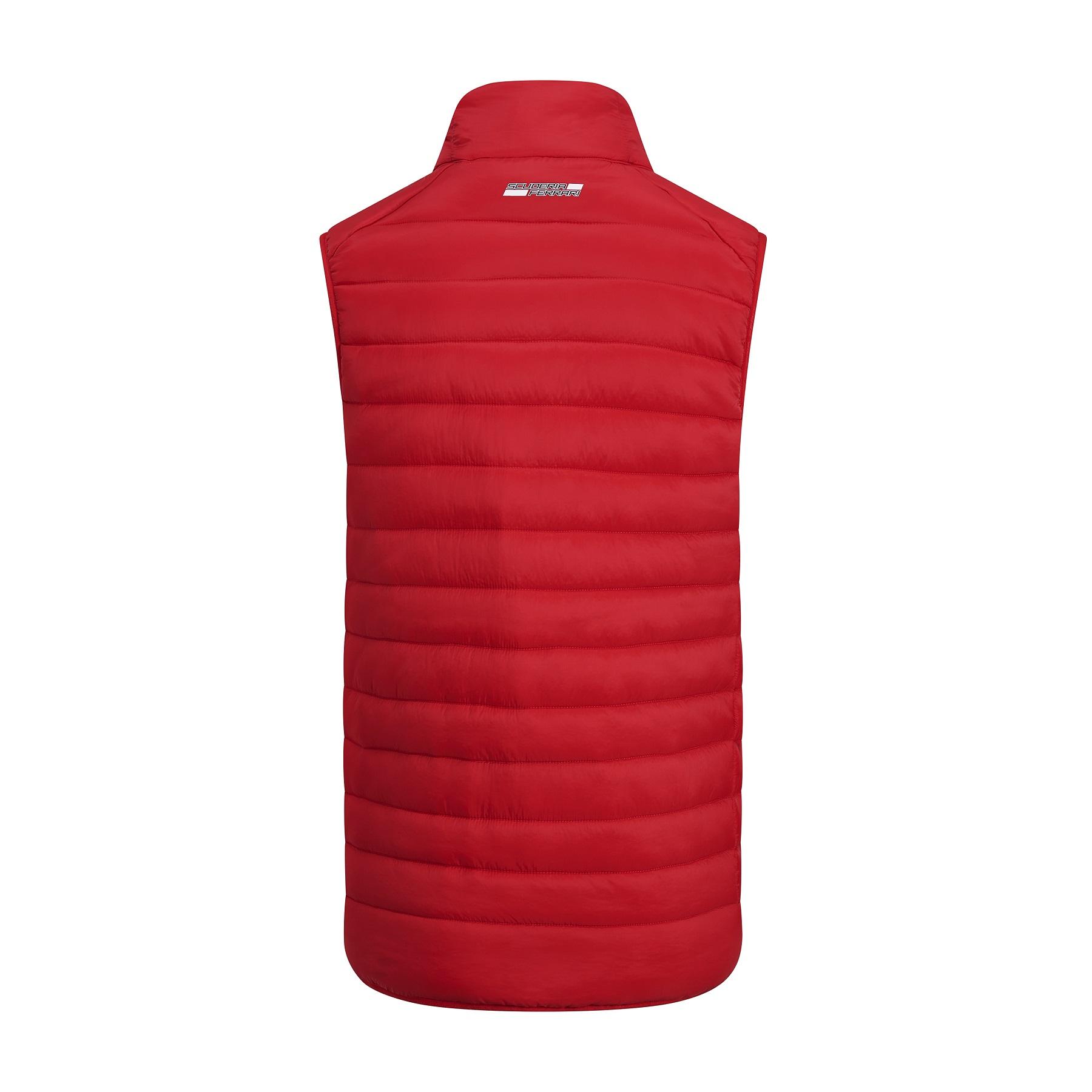Ferrari Red Padded Jacket