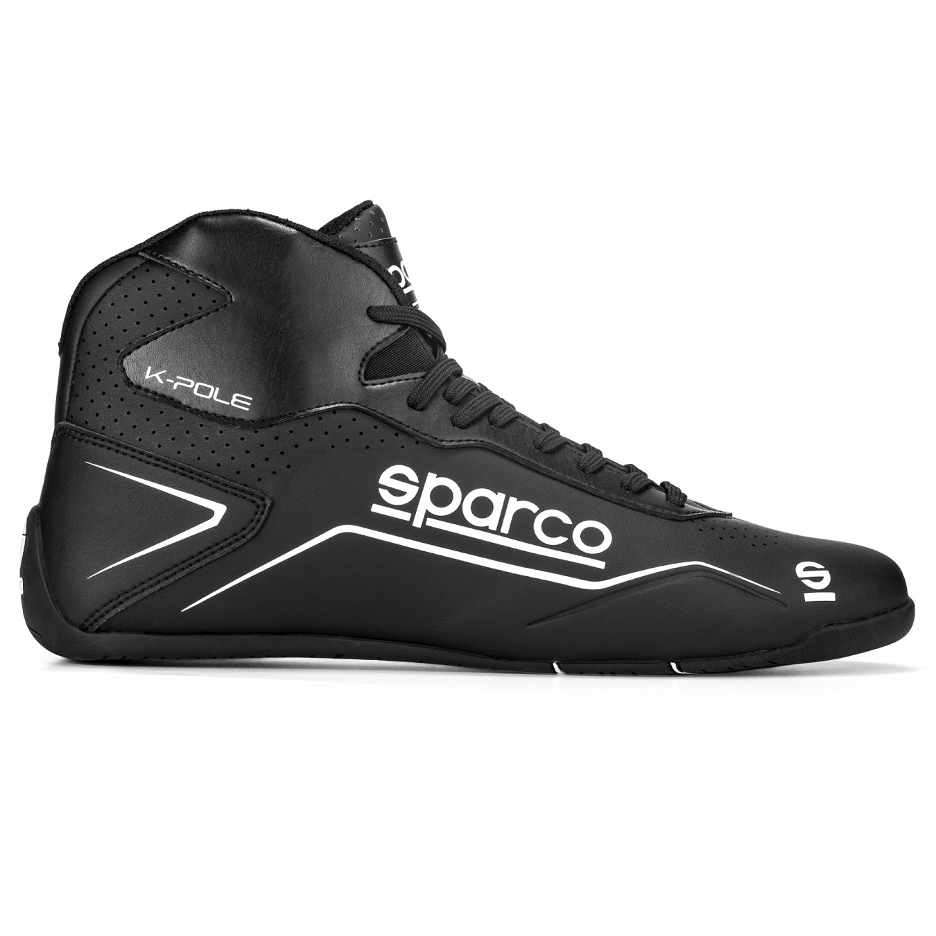 Sparco Chaussures Kart K-Pole Taille 43 Noir//B